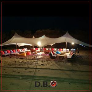 אוהל לייקרה לפי דרישות הלקוח - DBO