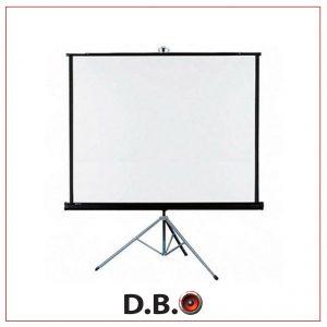 השכרת מסך הקרנה - DBO השכרת ציוד לאירועים