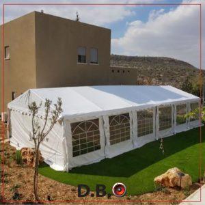 אוהל ענק להשכרה - DBO השכרת ציוד לאירועים