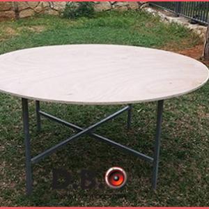 שולחן עגול - DBO השכרת ציוד לאירוע